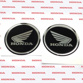 3D STICKER HONDA FULL BLACK
