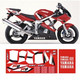YZF R6 2002 RED
